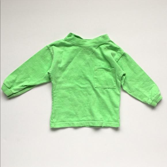 d8905f9e5 Vintage Shirts & Tops   Sun Country Neon Green Long Sleeve Shirt ...